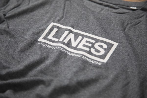 LINES T-Shirt grey Detail