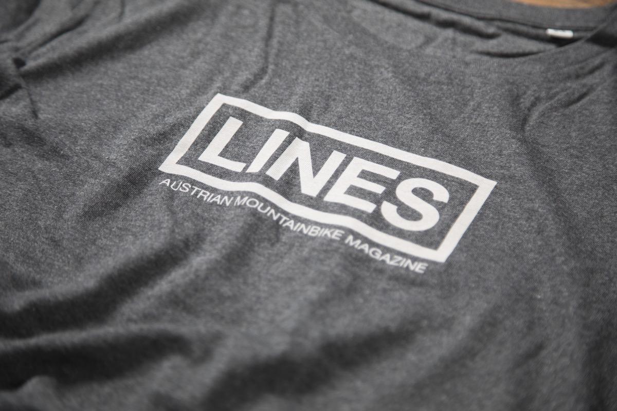 LINES T-Shirt grey Detail
