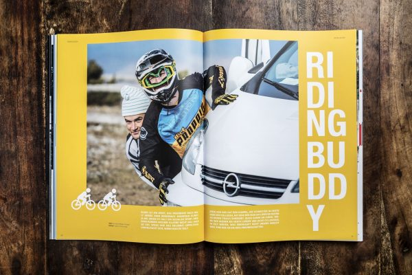 LINES Issue #10 | Inside Riding Buddy