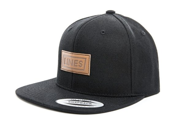 Cap Leather black side