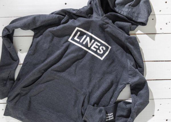 LINES Essential Hoodie Dark Front