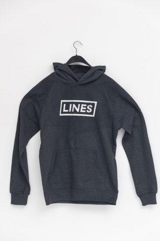 LINES Essential Hoodie Dark