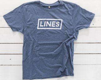 LINES Essential Tee Denim