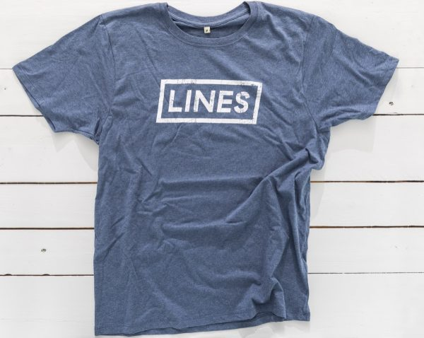 LINES Essential Tee Denim