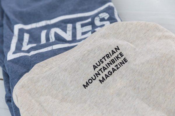 LINES Essential Tee Logo Detail