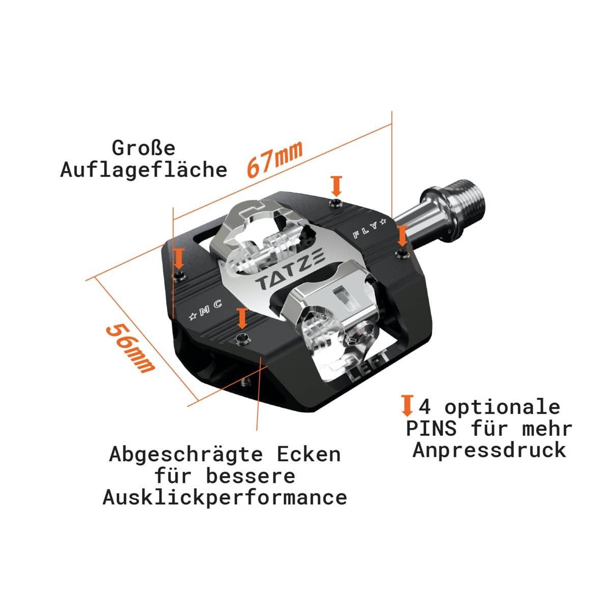 Tatze bike-components MC-FLY