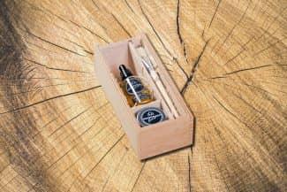 Woodman's Finest große Holzbox groß