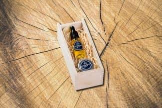 Woodman's Finest kleine Holzbox klein