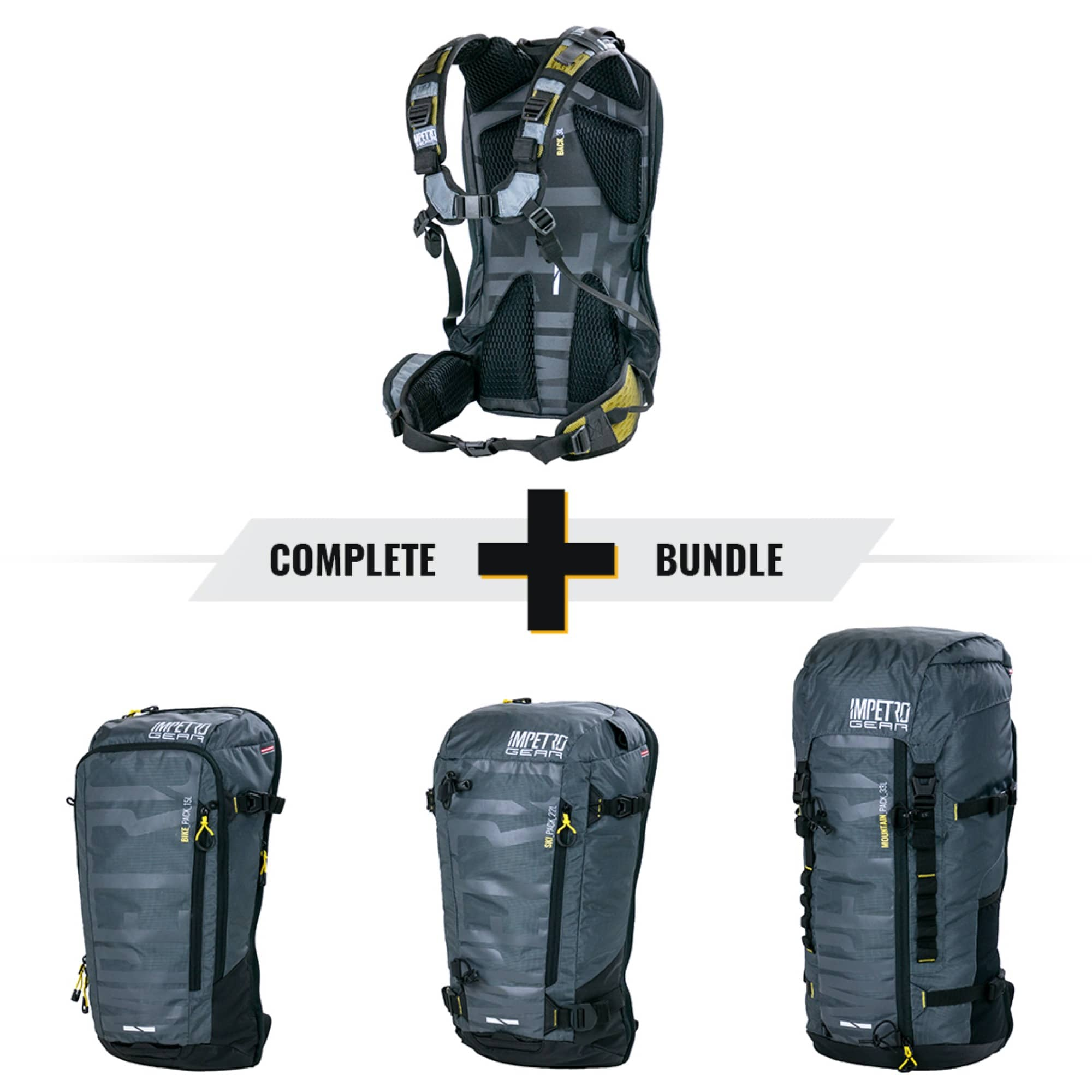 Impetro Gear The Complete Set Rucksack Bundle