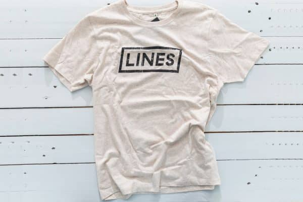 LINES Essential Tee Brown